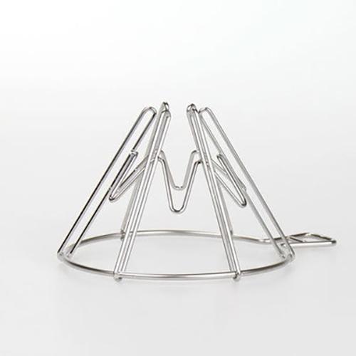日本IFNi | Mt.FUJI DRIPPER富士山造型不鏽鋼手沖咖啡濾杯-大