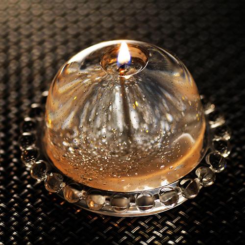 日本Candly | 結凍冰晶手工蠟燭(附底座)