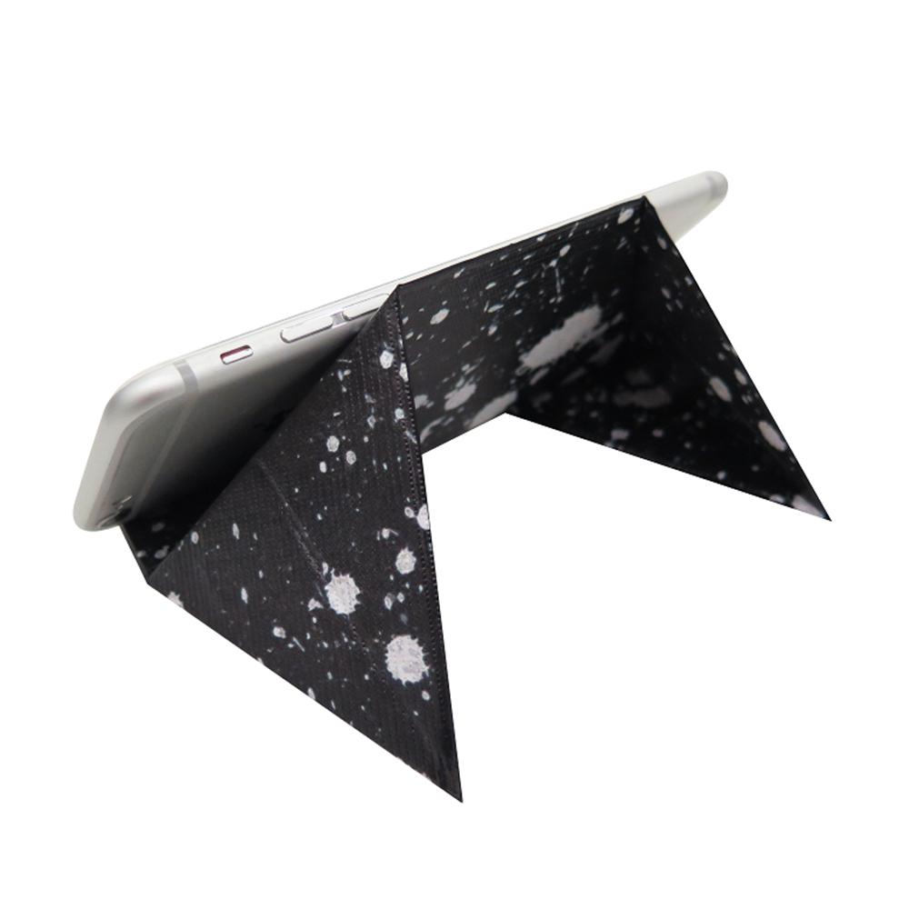 日本FODI | 攜帶式可折疊平板手機座-黑夜白雪