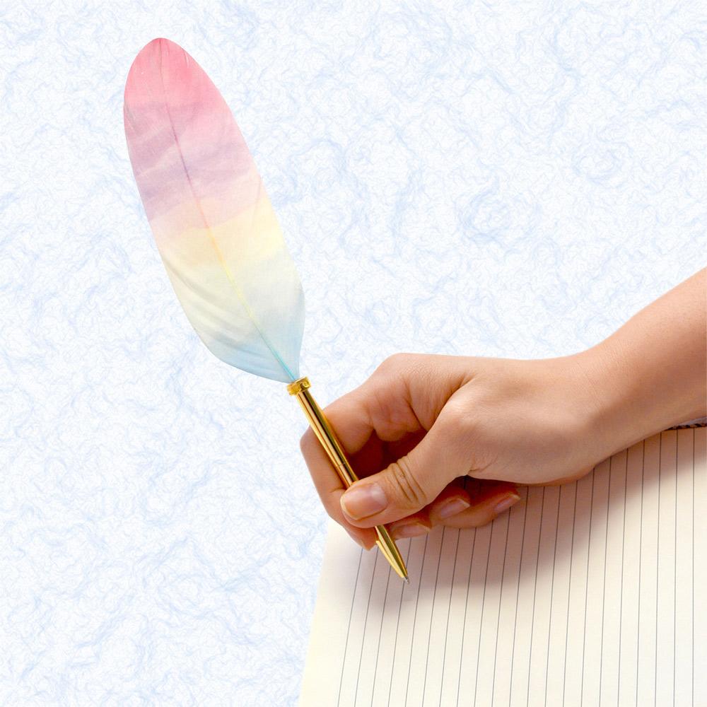 日本Quill Pen | 羽毛原子筆Shell貝殼紋系列 羽毛筆 原子筆