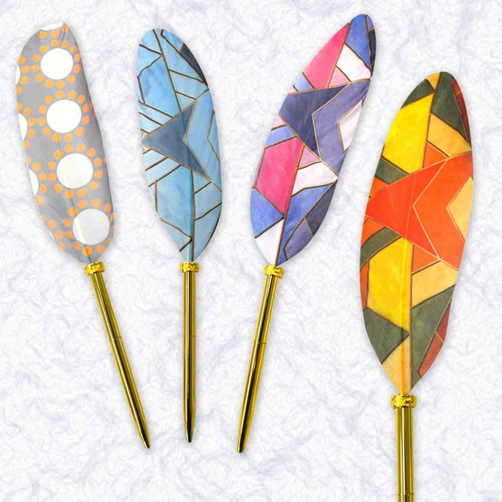 日本Quill Pen | 羽毛原子筆Native系列 羽毛筆 原子筆