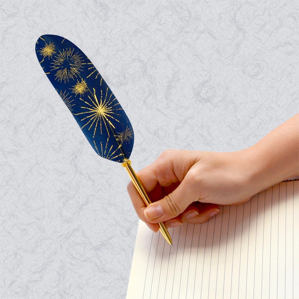 日本Quill Pen | 羽毛原子筆Lucia光之使者系列 羽毛筆 原子筆