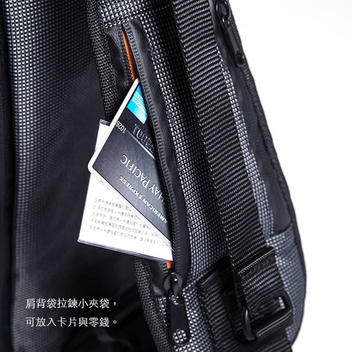 Filo Design|Silver-light lone pack/銀光 肩負包