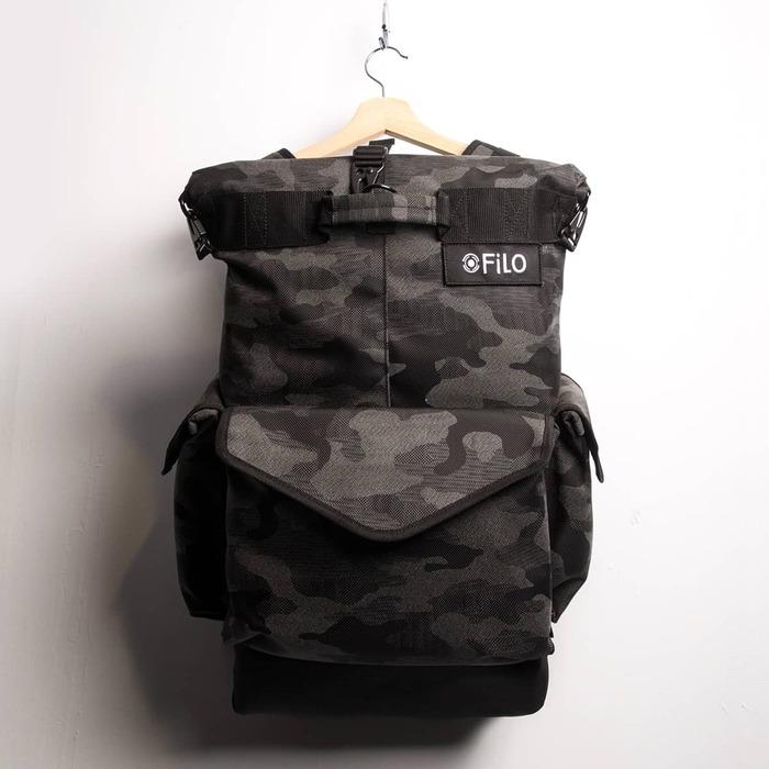 Filo Design|NYLON 3-DAY RUCKSACK 遊旅(迷彩) 雙肩包