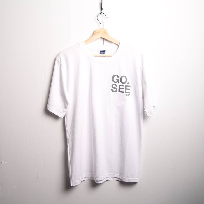 Filo Design|GO&SEE SMALL T-Shirt S size