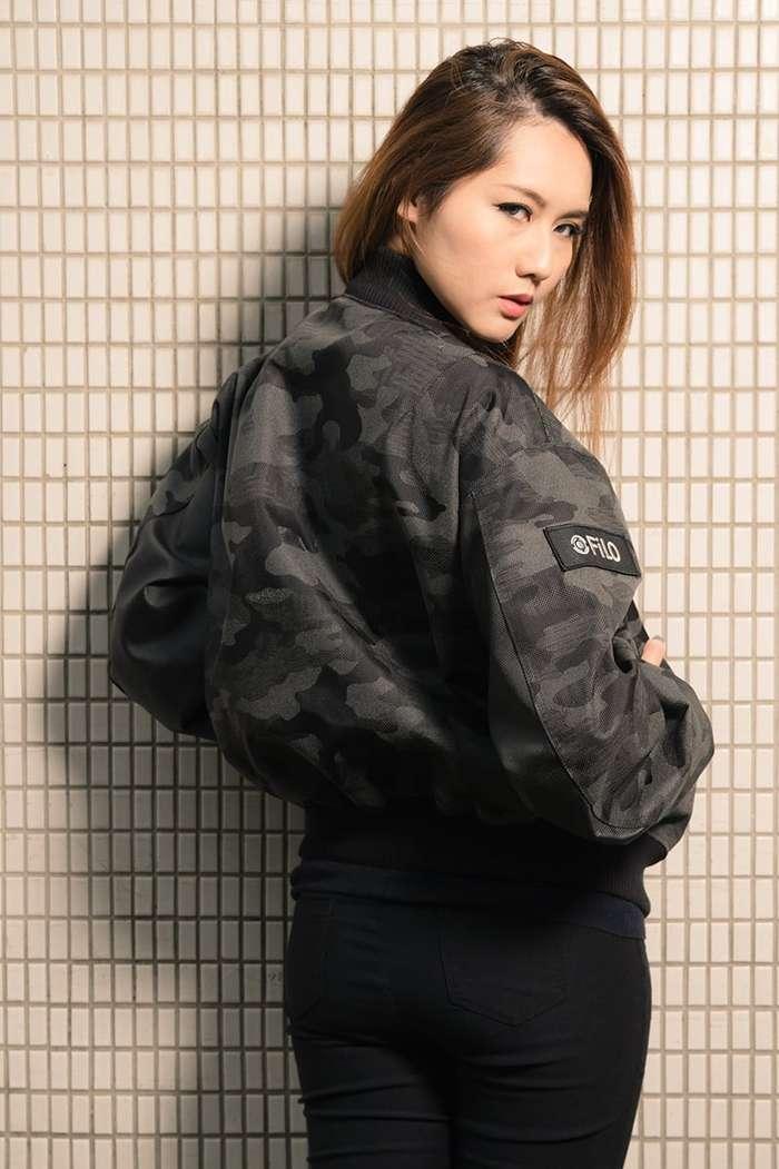 Filo Design|Bomber CAMO Jacket 輕量反光迷彩飛行夾克