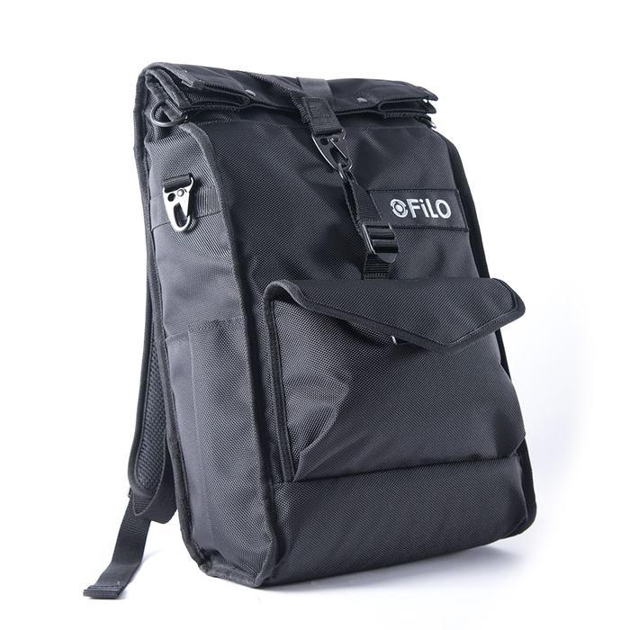 Filo Design|NYLON DAY PACK 日行 雙肩包(黑)