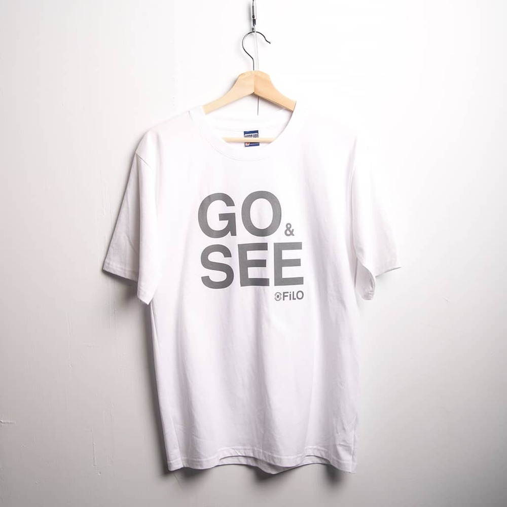 Filo Design|GO&SEE BIG T-SHirt M size