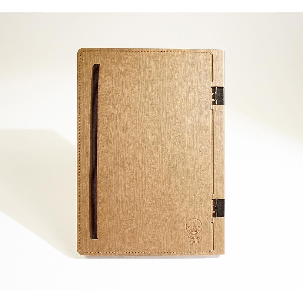 地球好樂   A5回收紙筆記本-原色