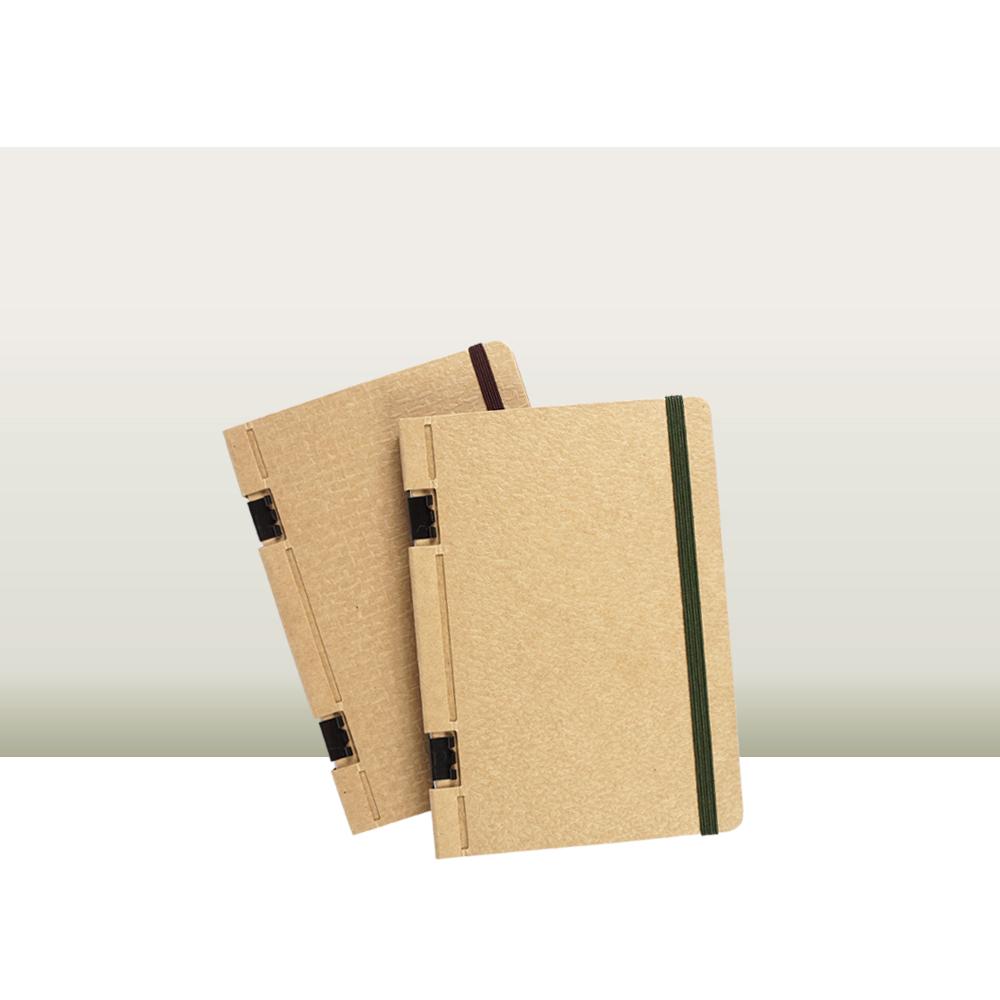 地球好樂 | A6回收紙筆記本(2入)