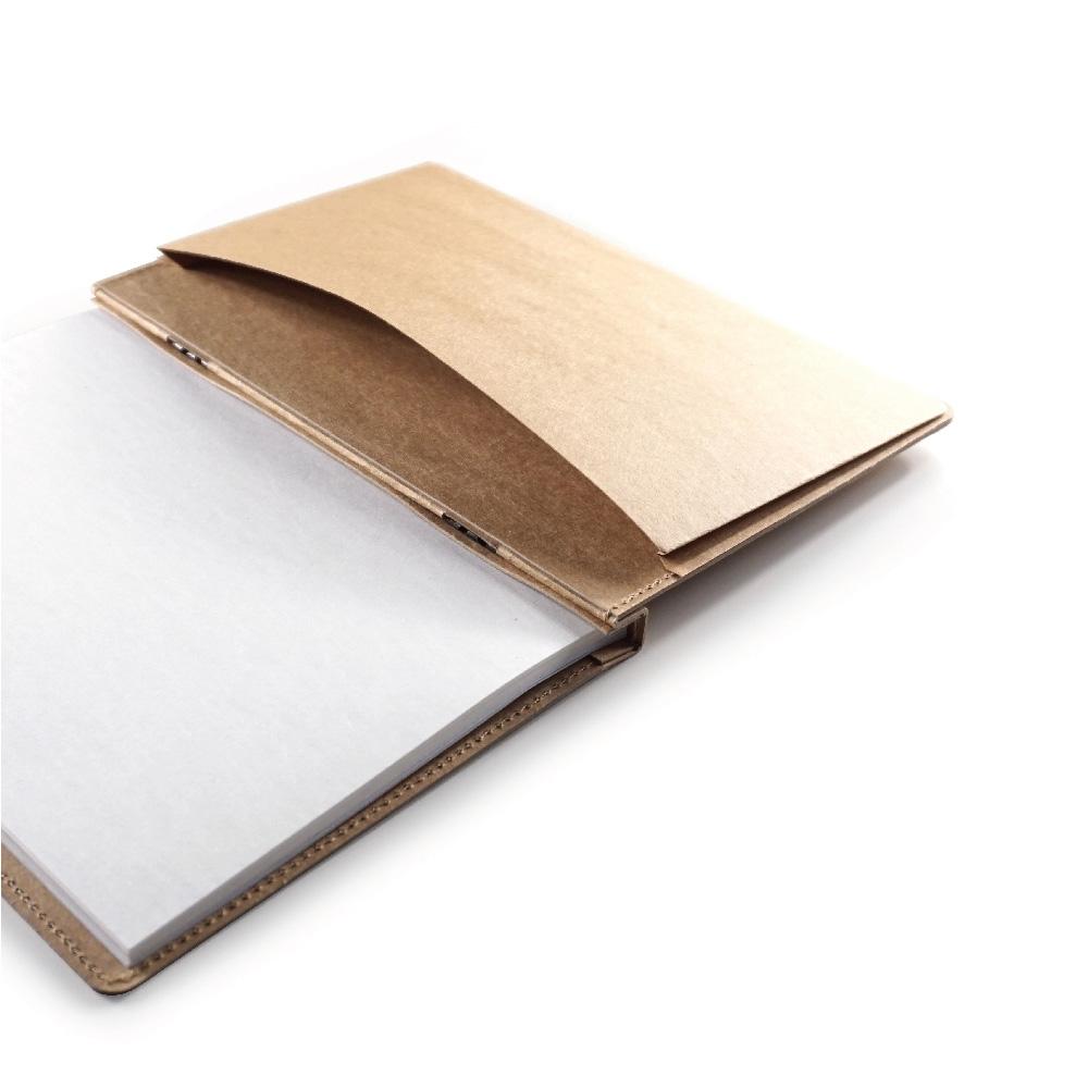 地球好樂 | A5回收紙筆記本-原色好樂菇b