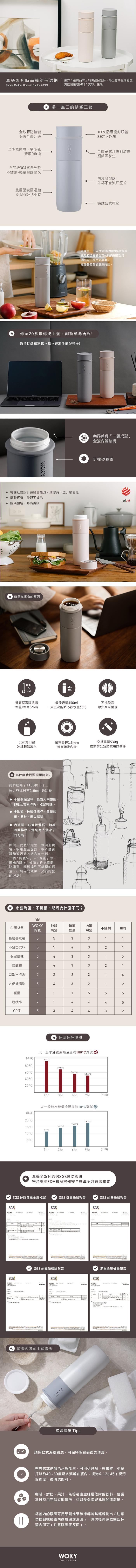 (複製)FUSHIMA 富島 東方陶綵瓷芯保溫杯370ML(兩色可選)