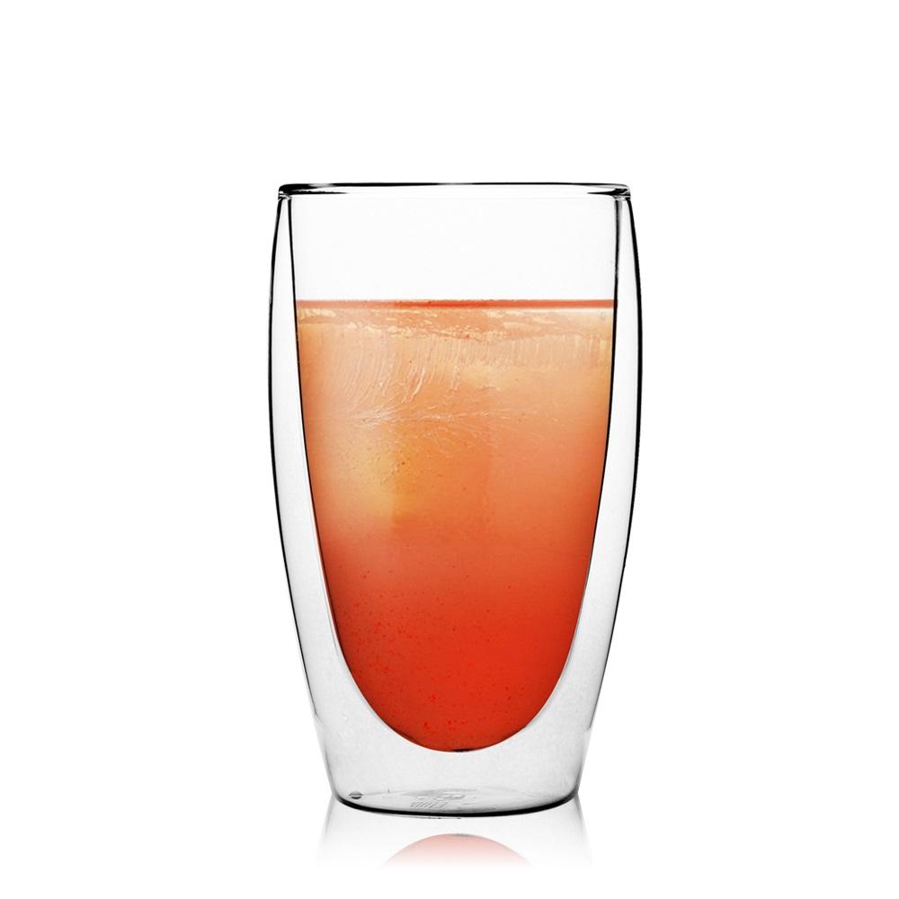 FUSHIMA 富島|經典系列雙層耐熱玻璃杯460ML