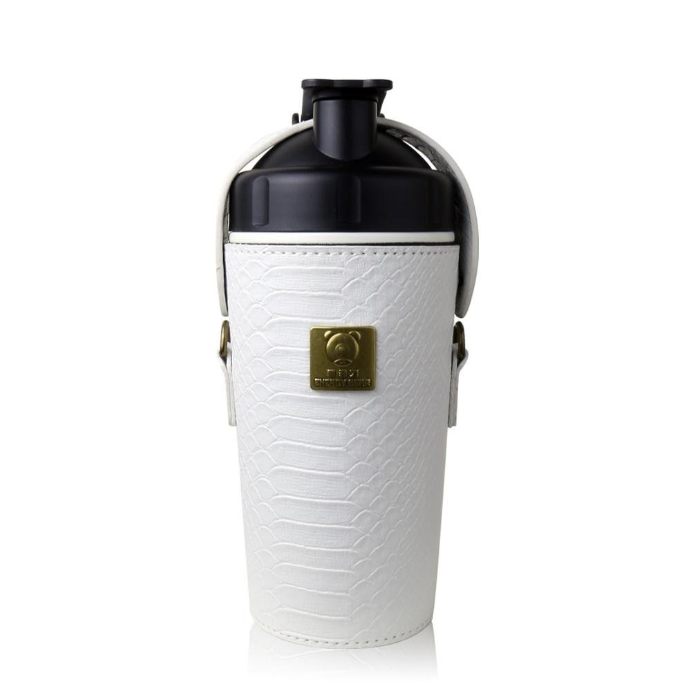 BEDDY BEAR|開芯能量可背式手提保溫保冷水壺600ML(白色)