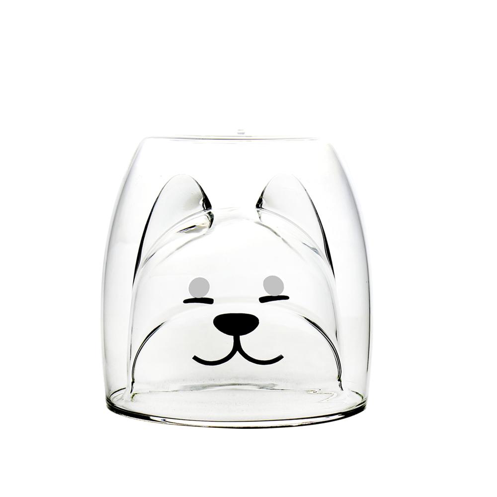 FUSHIMA 富島 2018年度限定-雙層耐熱玻璃杯旺福款200ML