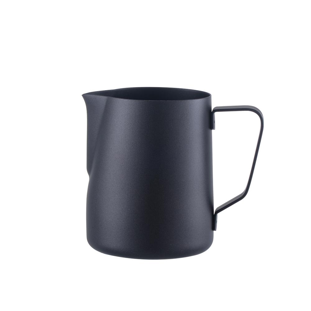 FUSHIMA 富島|304不鏽鋼拉花杯600ML(黑色)