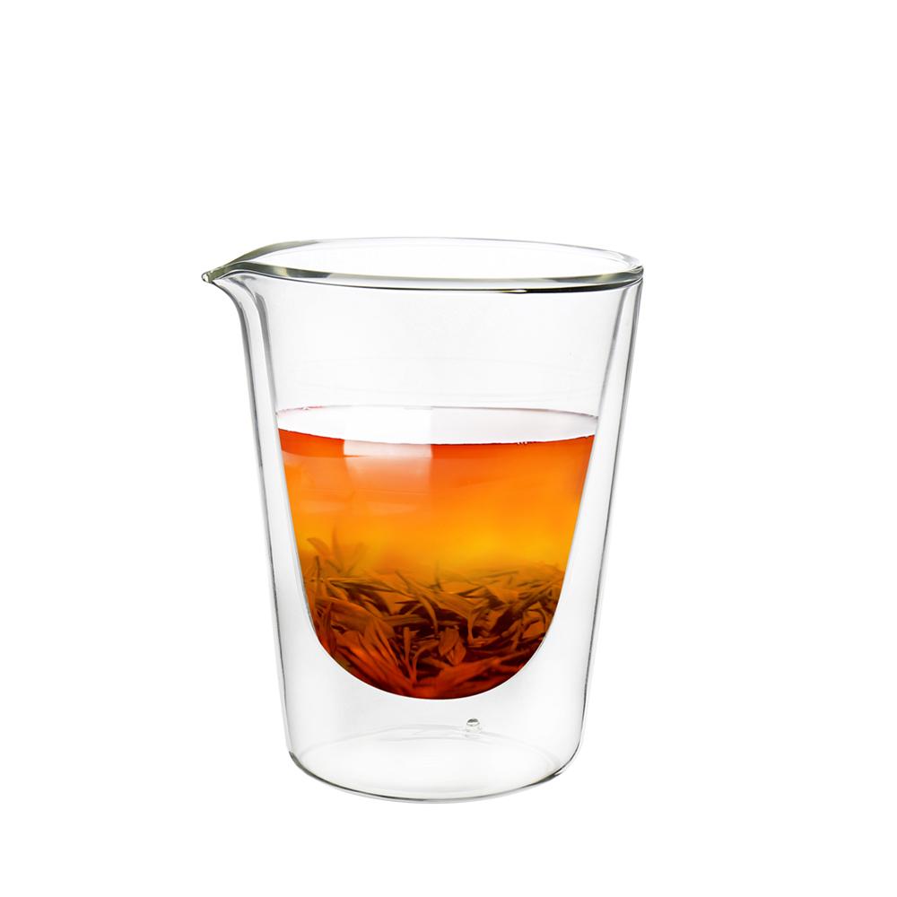 FUSHIMA 富島|拉花尖嘴雙層耐熱玻璃杯230ML