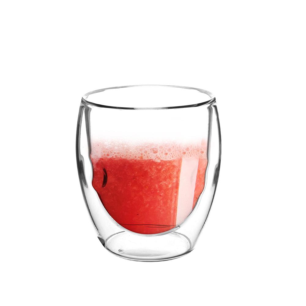 FUSHIMA 富島|Soda系列雙層耐熱玻璃杯235ML