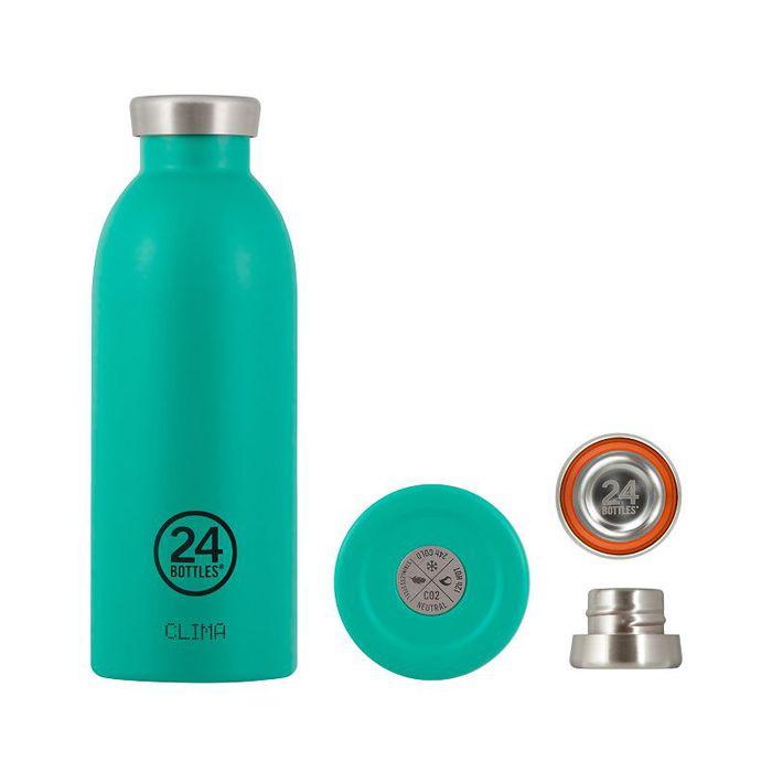 (複製)義大利 24Bottles | Clima不銹鋼雙層保溫瓶 500ml - 不鏽鋼
