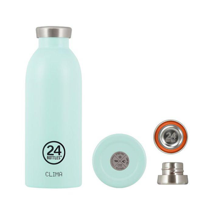 (複製)義大利 24Bottles | Clima不銹鋼雙層保溫瓶 500ml -  糖果粉