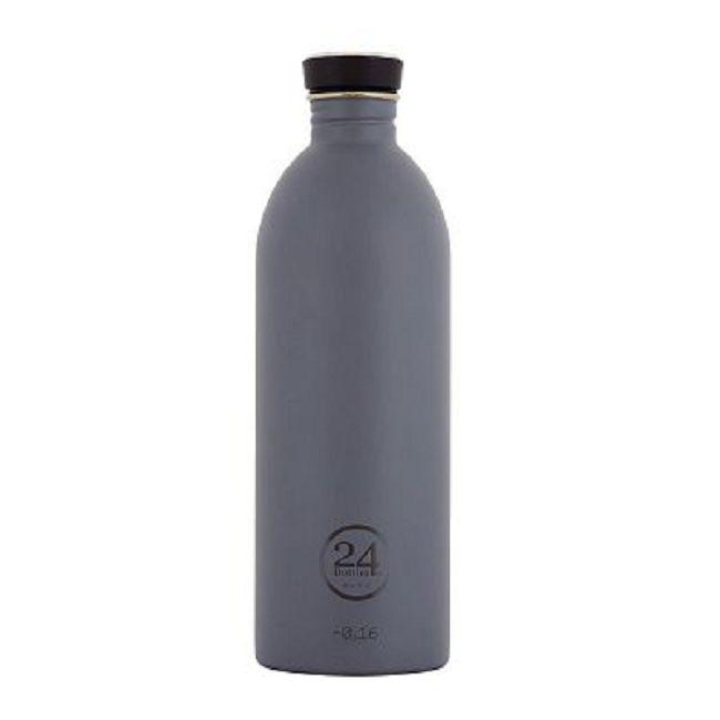 義大利 24Bottles | 城市水瓶 1000ml - 典雅灰