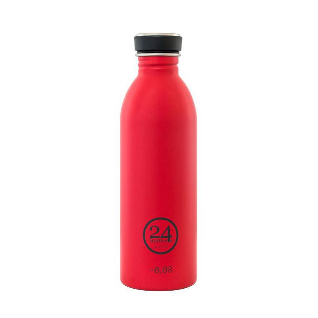 義大利 24Bottles   城市水瓶 500ml - 熱火紅