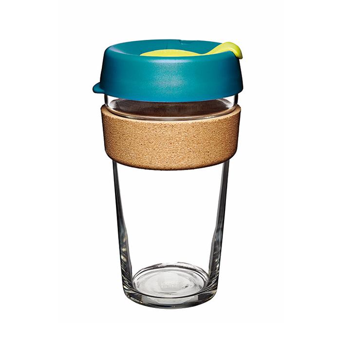 澳洲 KeepCup 隨身咖啡杯 | 軟木系列 L - 沉靜