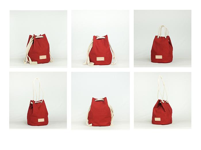 (複製)泰國 Something Simple 手作三用水桶包 - 霧綠