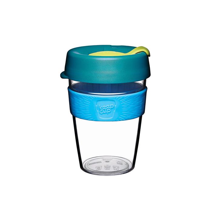 (複製)澳洲 KeepCup 隨身咖啡杯 晶透系列 M - 黑色幽默