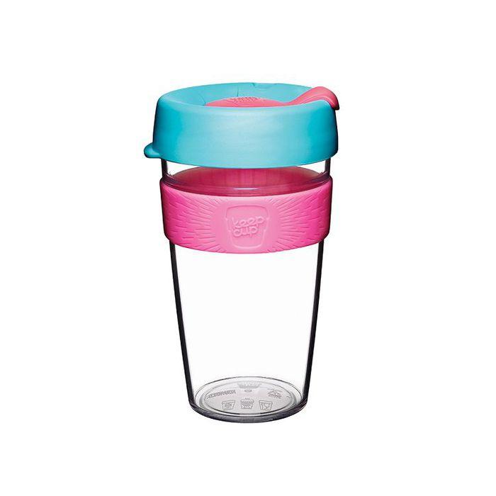 (複製)澳洲 KeepCup 隨身咖啡杯 晶透系列 L - 極光