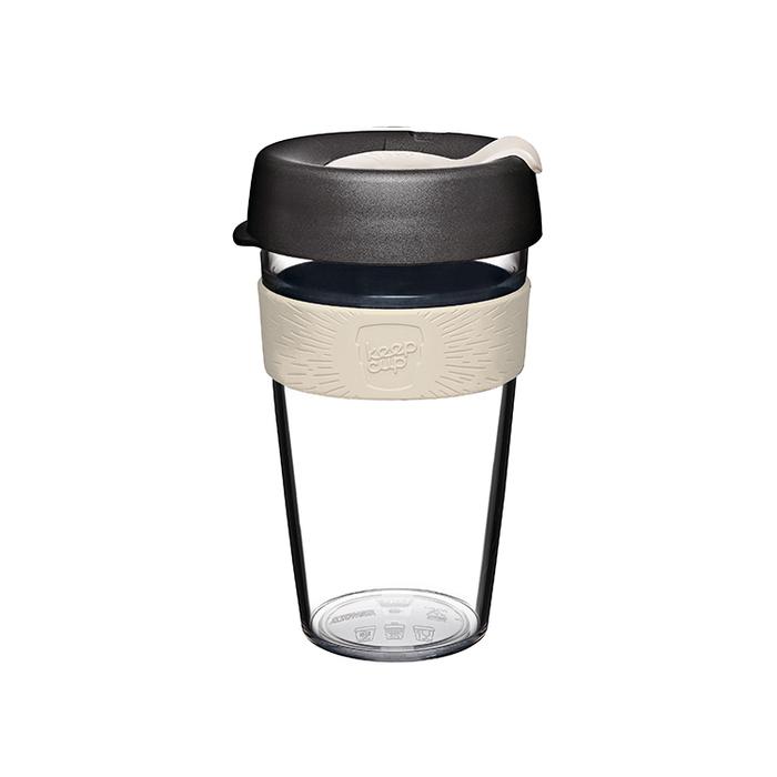 (複製)澳洲 KeepCup 隨身咖啡杯 晶透系列 L - 倒映櫻