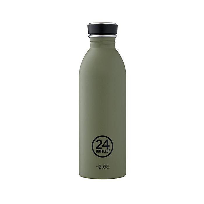 義大利 24Bottles 城市水瓶 500ml - 橄欖綠