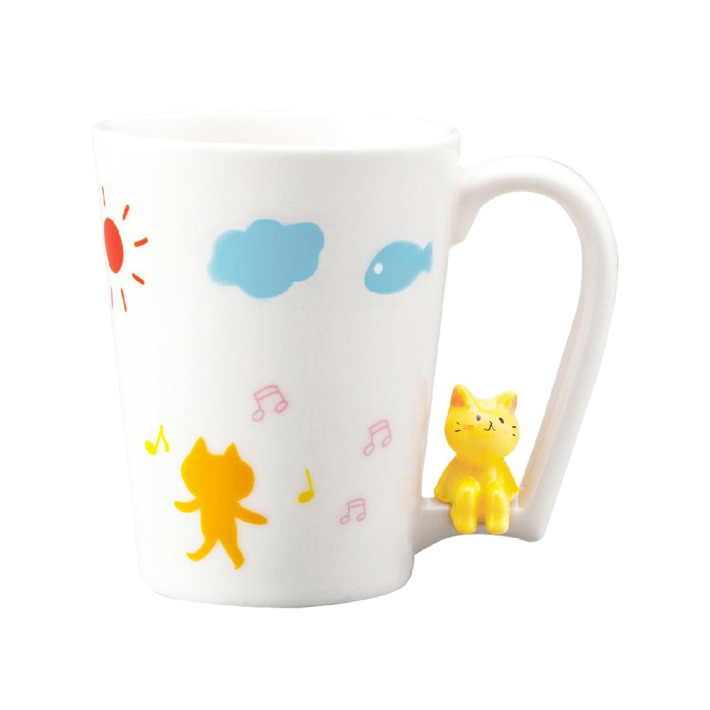 日本 sunart | 馬克杯 - 喜樂貓