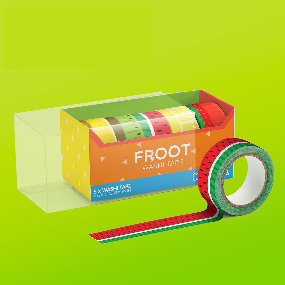 英國 Mustard   紙膠帶 - 就是水果
