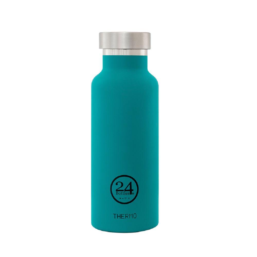 義大利 24Bottles | 雙層保溫瓶 500ml - 海灣藍