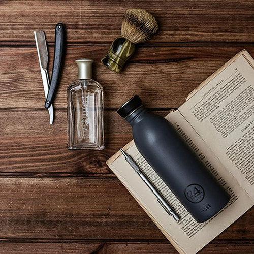 義大利 24Bottles|輕量冷水瓶 500ml - 典雅灰