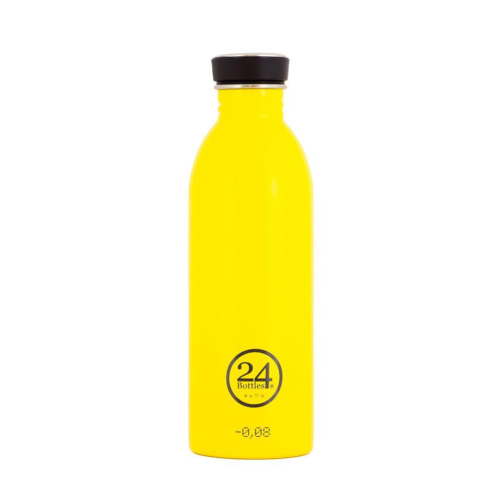 義大利 24Bottles | 城市水瓶 500ml - 的士黃
