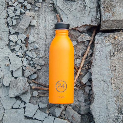 義大利 24Bottles|輕量冷水瓶 500ml - 極致橙