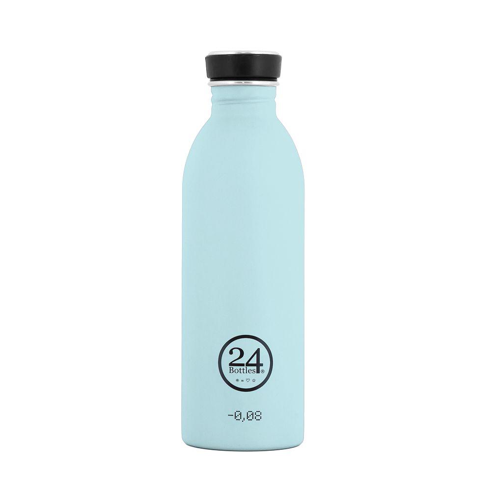 義大利 24Bottles|輕量冷水瓶 500ml - 天空藍