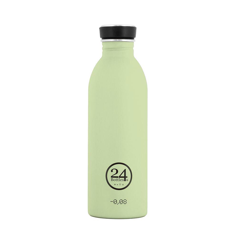 義大利 24Bottles|輕量冷水瓶 500ml - 開心果