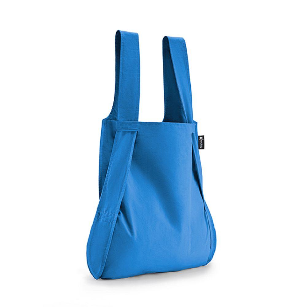 德國 Notabag|三用後背包/購物袋/手提袋/肩背袋 - 希臘藍