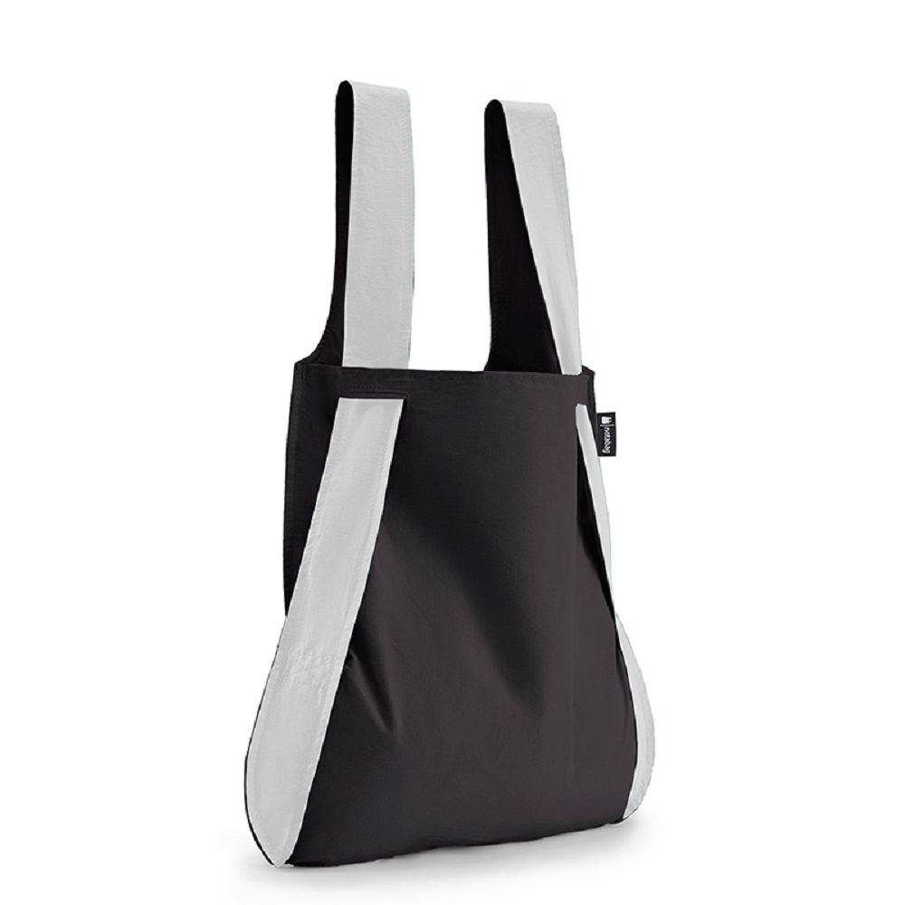 德國 Notabag|反光銀諾特包/購物袋/環保袋/多功能包 - 墨染