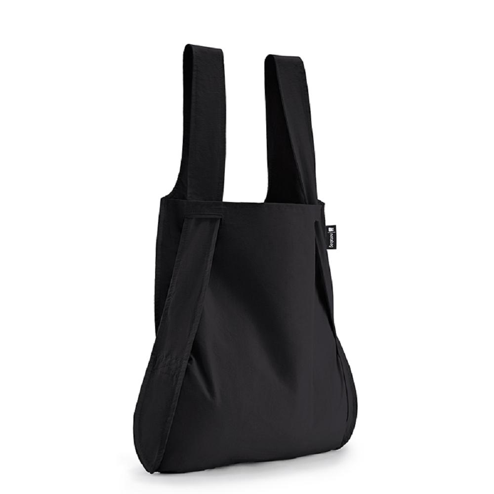 德國 Notabag 三用後背包/購物袋/手提袋/肩背袋 - 墨染
