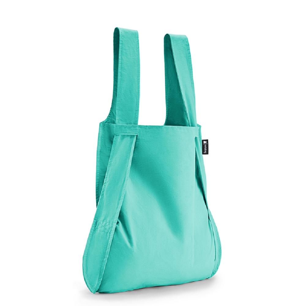 德國 Notabag|三用後背包/購物袋/手提袋/肩背袋 - 薄荷