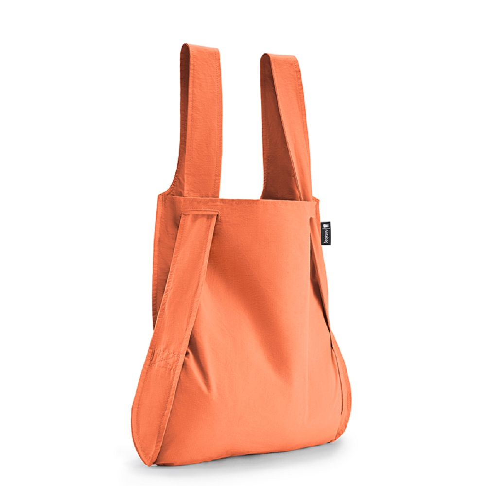 德國 Notabag 三用後背包/購物袋/手提袋/肩背袋 - 蜜桃