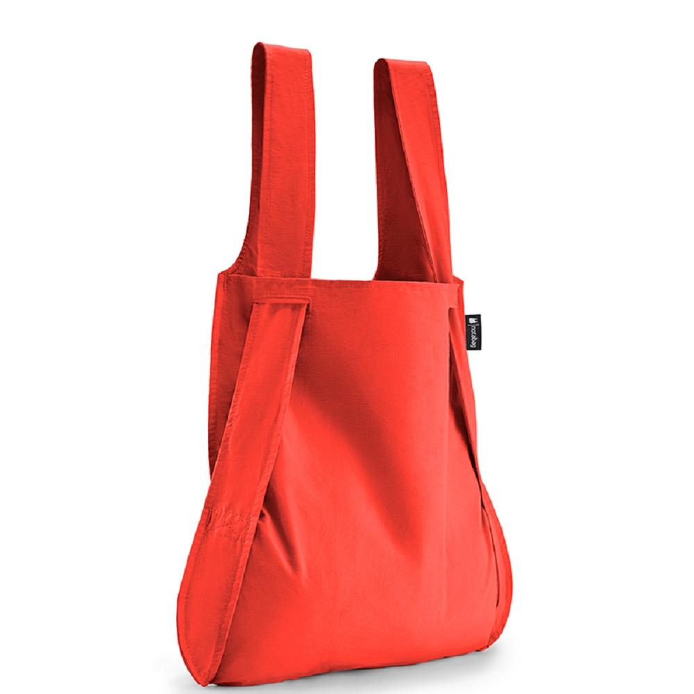 德國 Notabag|三用後背包/購物袋/手提袋/肩背袋 - 熱火