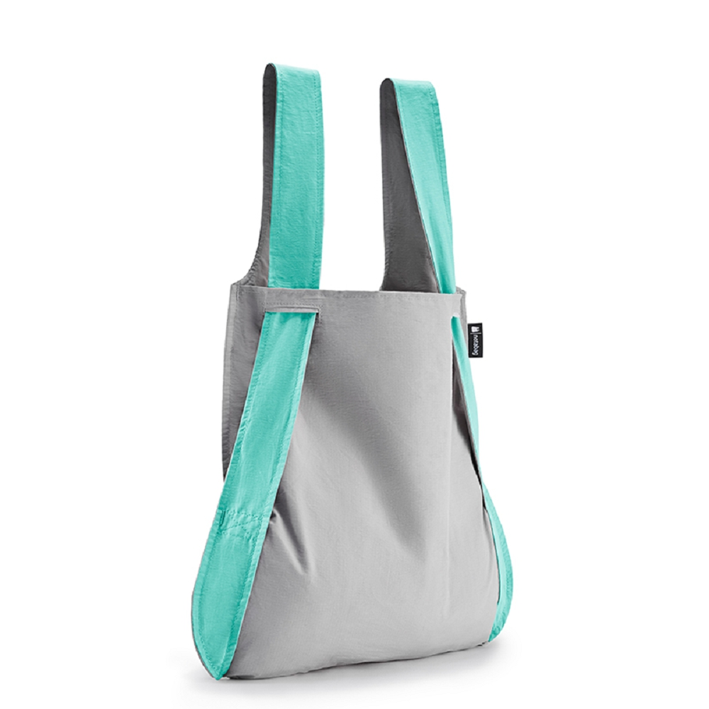 德國 Notabag|三用後背包/購物袋/手提袋/肩背袋 -  薄荷煙燻