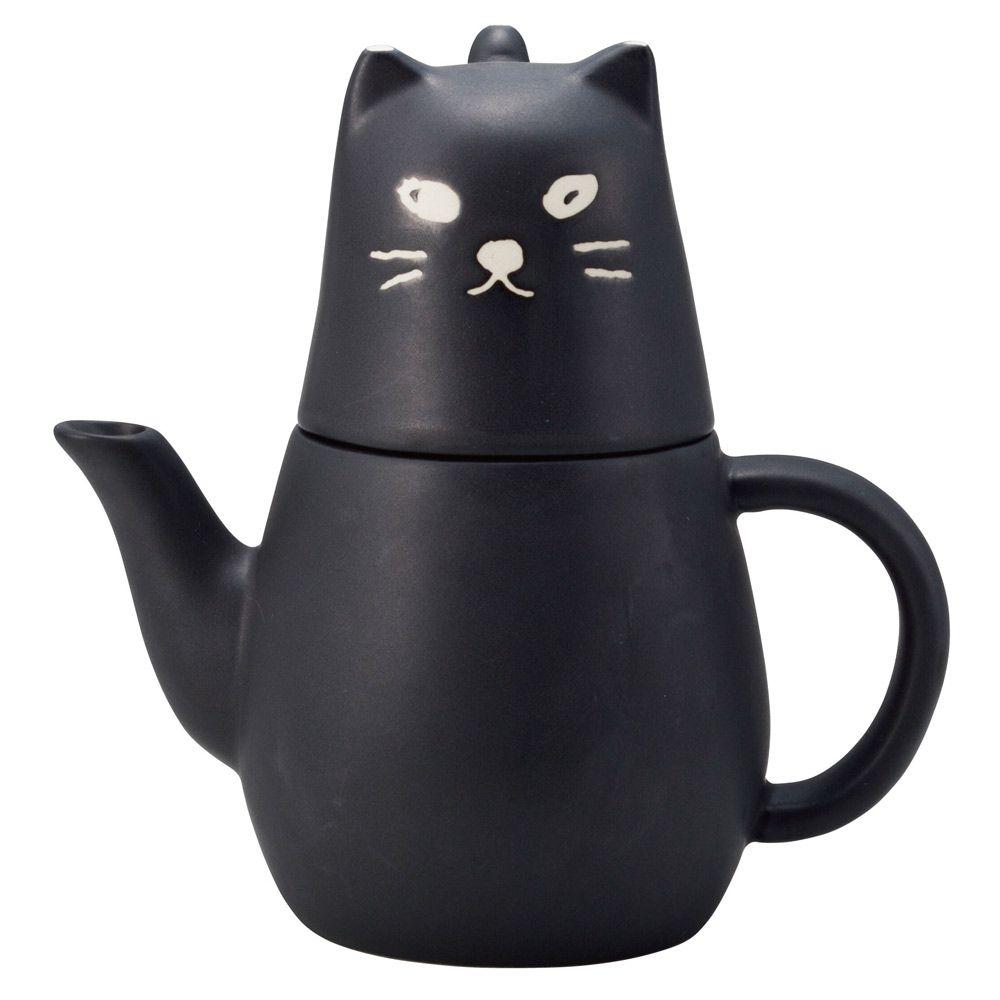 日本 sunart   杯壺組-大黑貓