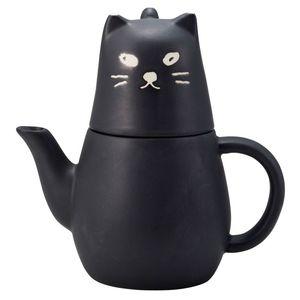 日本 sunart | 杯壺組-大黑貓