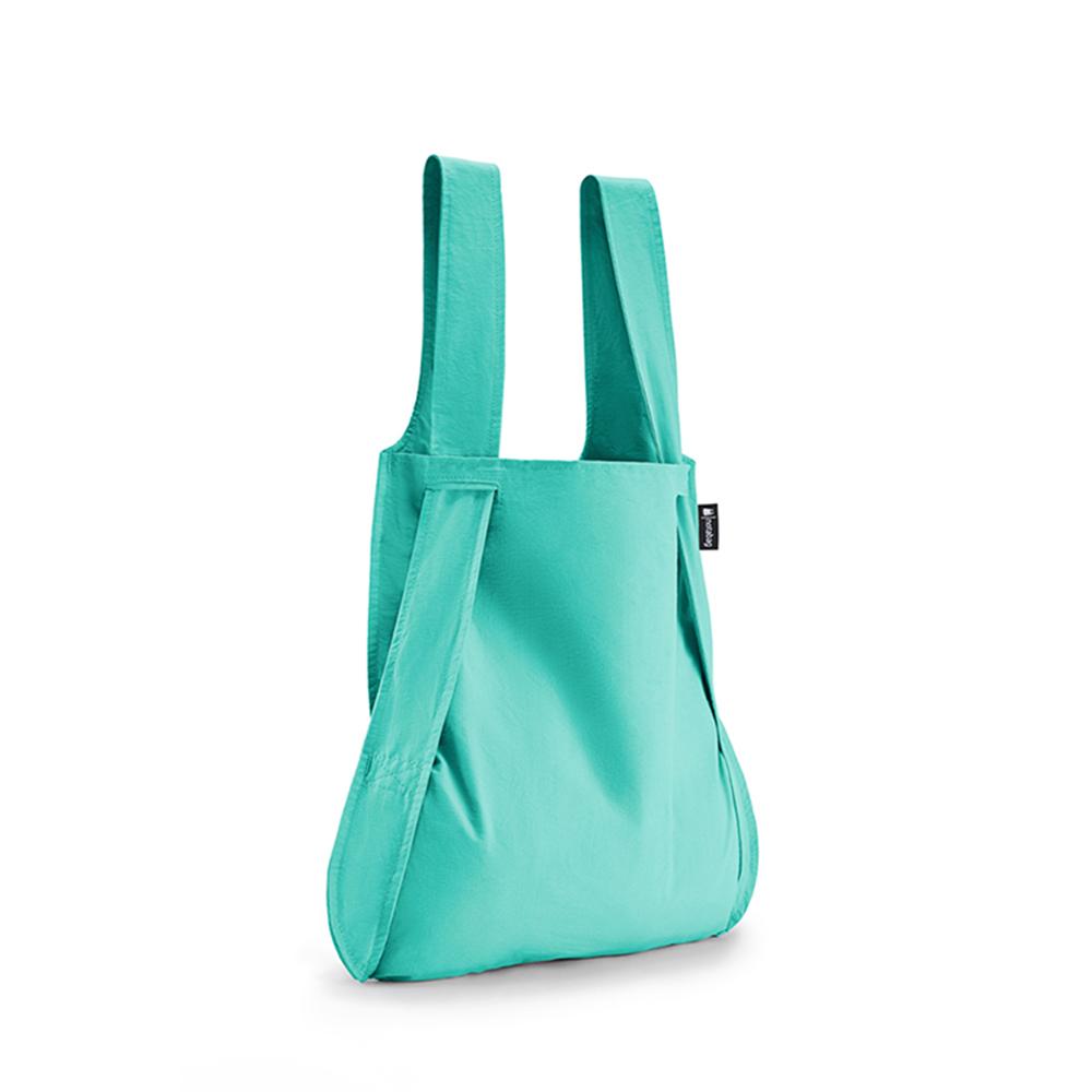 德國 Notabag 輕巧三用後背包/購物袋/手提袋/肩背袋 - 薄荷